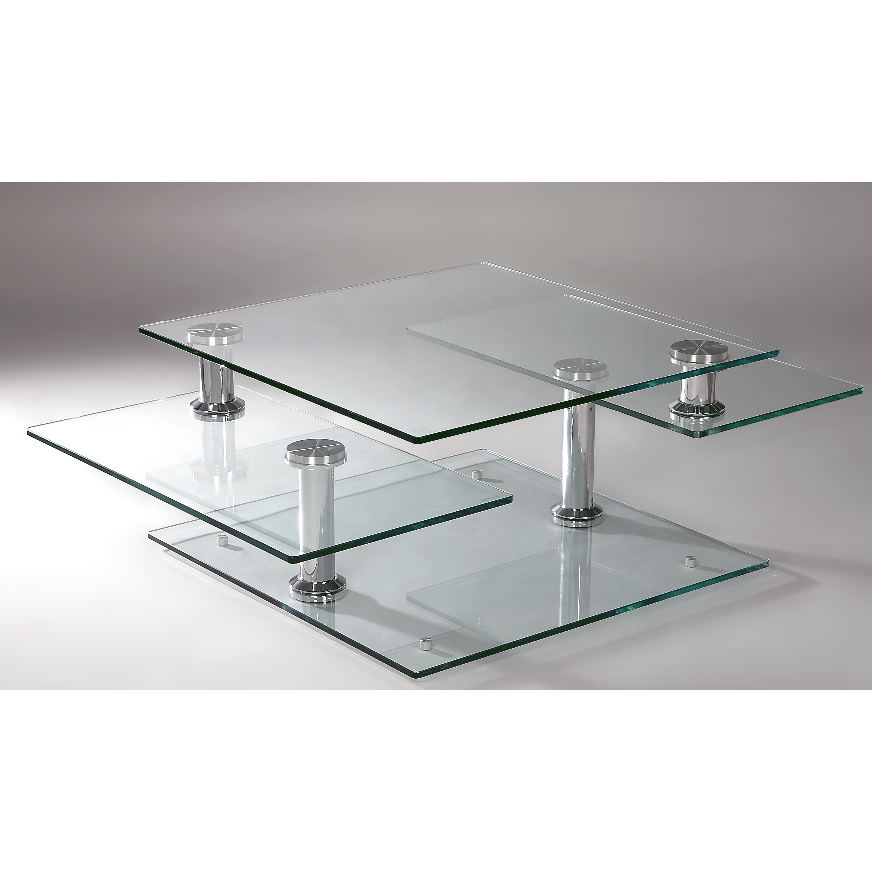 Somette Square Swivel Motion Cocktail Table Free Shipping Today