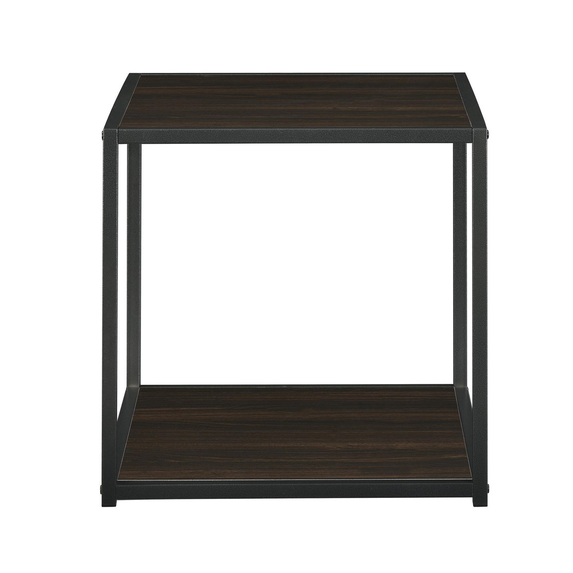 Porch & Den Wicker Park Haddon Accent Table With Metal
