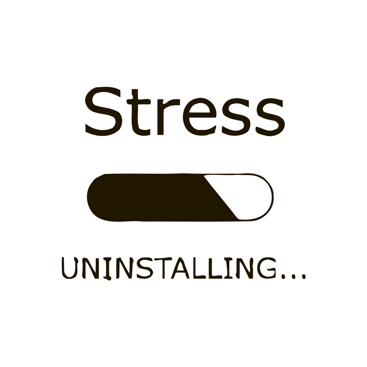Stress Quote Don't Stress Quote Vinyl Wall Art  Free Shipping On Orders Over