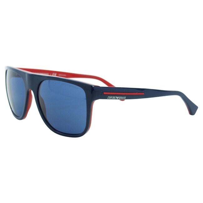 dd6d5c3d72d Shop Emporio Armani Men s  EA 4014 5103 80  Square Sunglasses - Free  Shipping Today - Overstock - 9060727