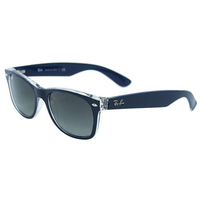 60c83124b45 Shop Ray Ban  RB 2132  New Wayfarer 6053 71 Sunglasses - Black - Free  Shipping Today - Overstock - 9060756
