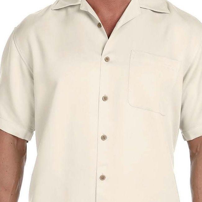 22cc515dd4d Shop Men s Bahama Cord Camp Shirt - On Sale - Free Shipping On Orders Over   45 - Overstock - 9060889