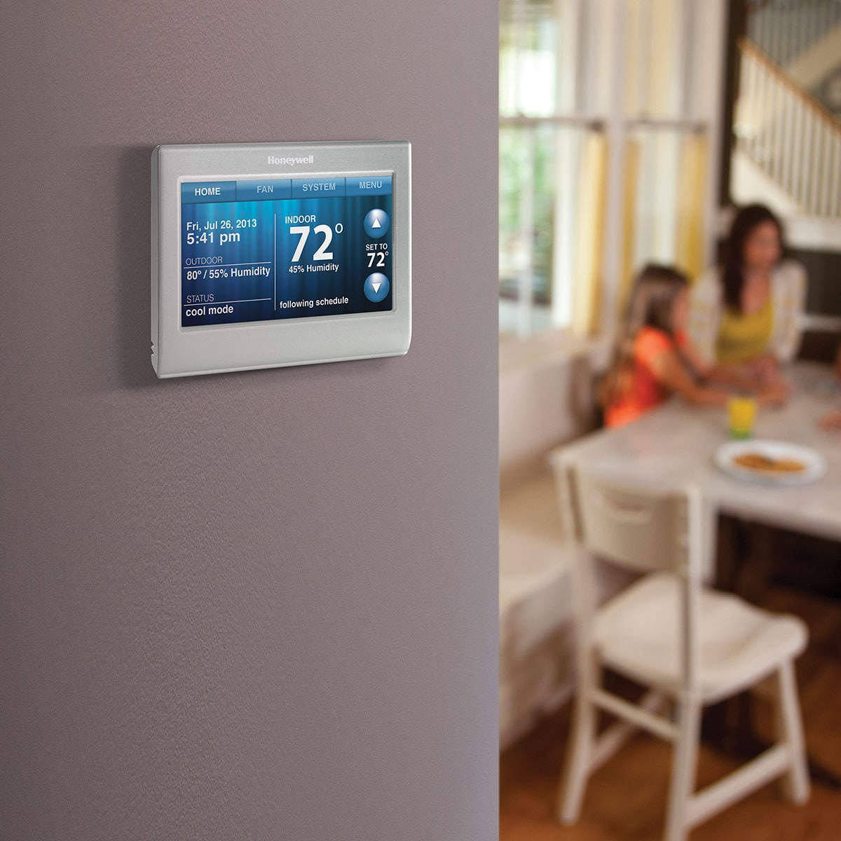 Shop Honeywell Wifi Smart Thermostat Free Shipping Today Wiring 9061543