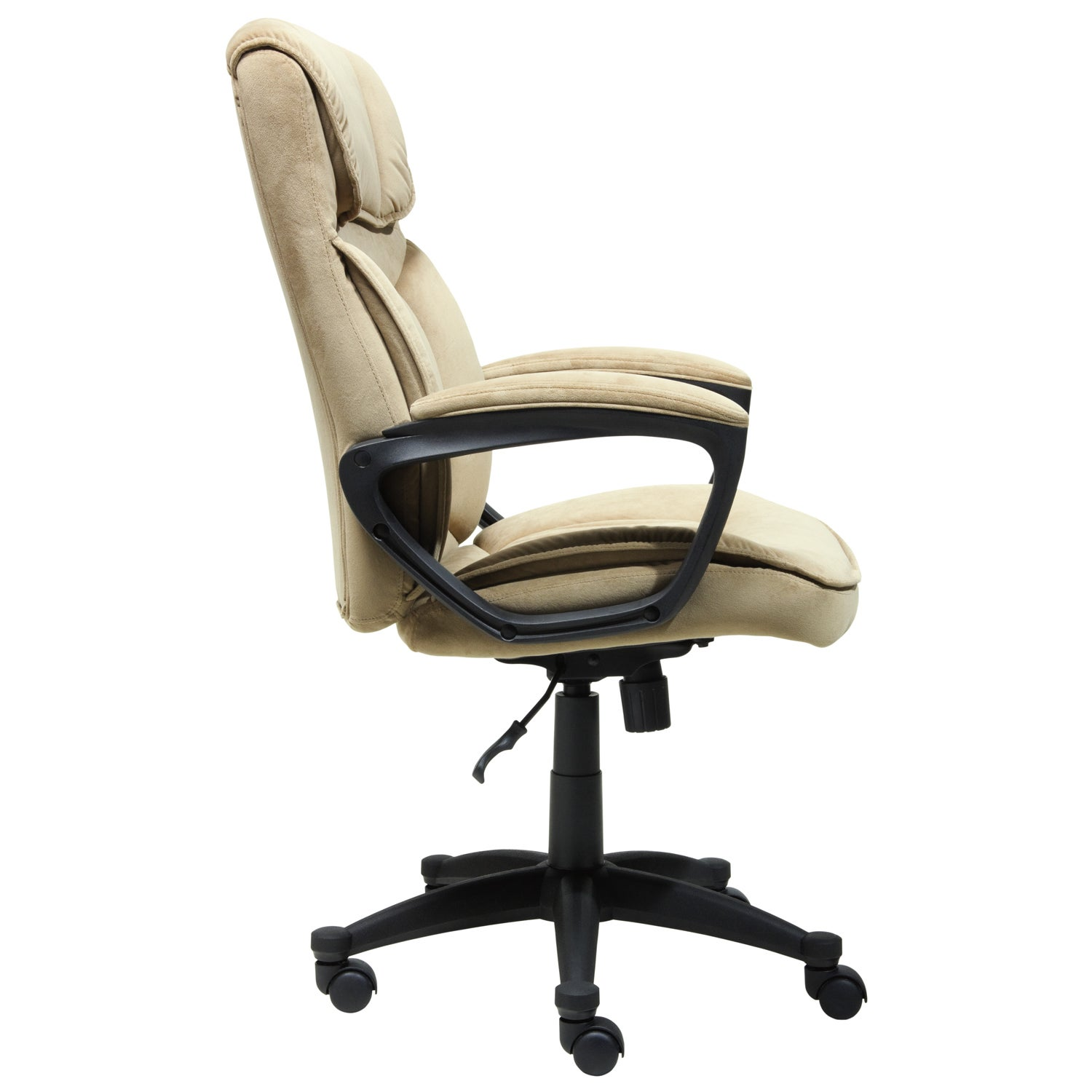 Serta Light Coffee Microfiber Executive Office Chair Free Shipping Today 9066791