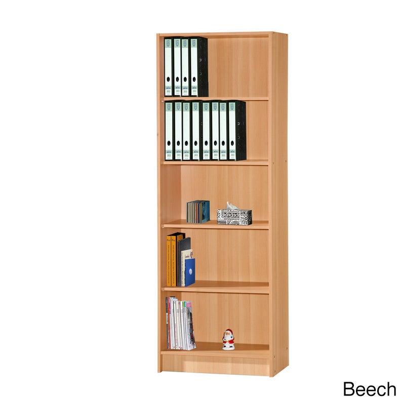 Shop Five Shelf Bookshelf Free Shipping Today Overstockcom