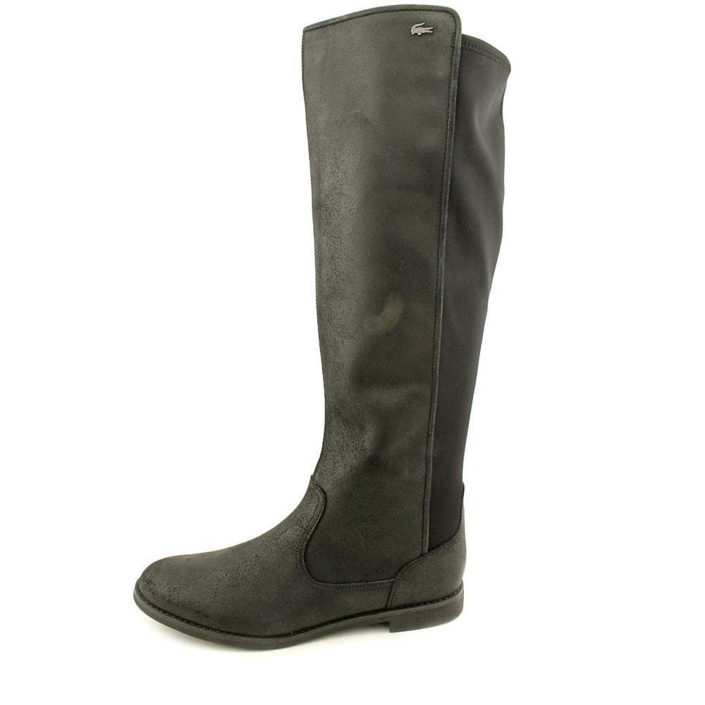 dac0a5c94 Shop Lacoste Women s  Rosemont  Leather Boots - Free Shipping Today -  Overstock - 9071153