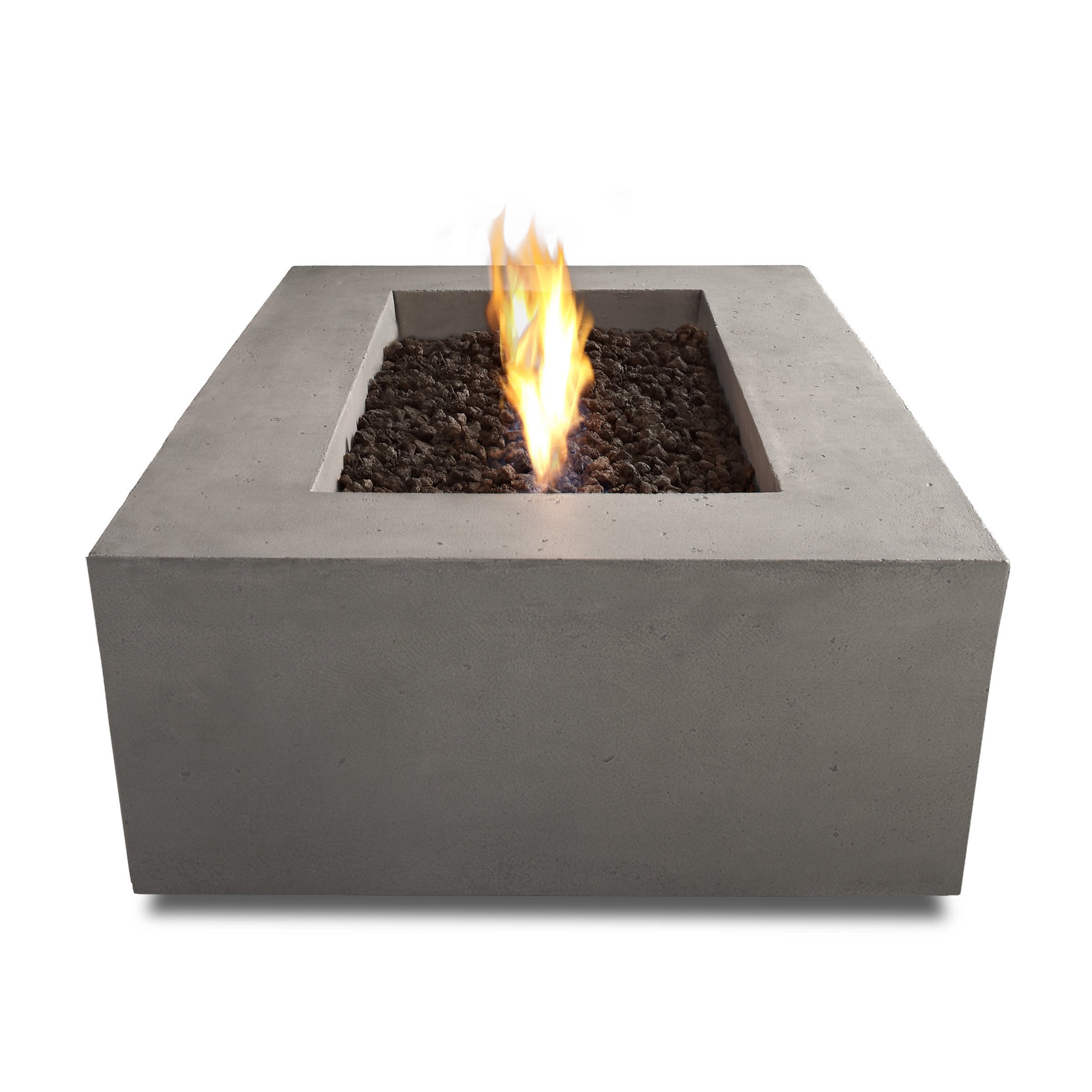 Real Flame Glacier Grey Baltic Rectangle LP Fire Table   Free Shipping  Today   Overstock.com   16268494