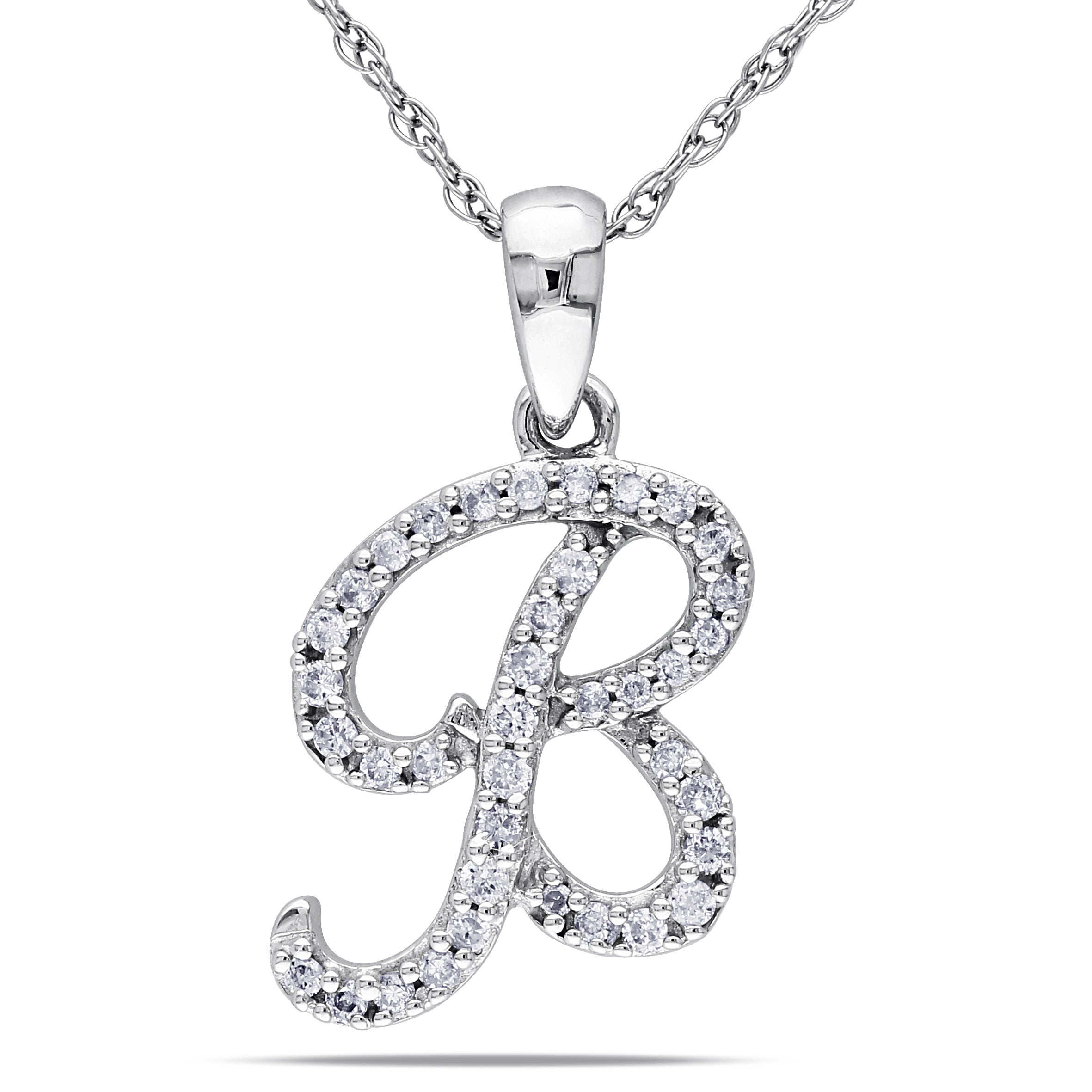 necklace in horseshoe gold itm ct white diamond ebay
