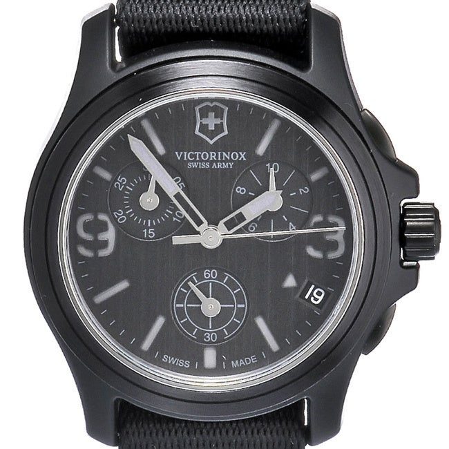 maverick watches blue army watch men com swiss steel watchmaxx dial stainless victorinox s chronograph