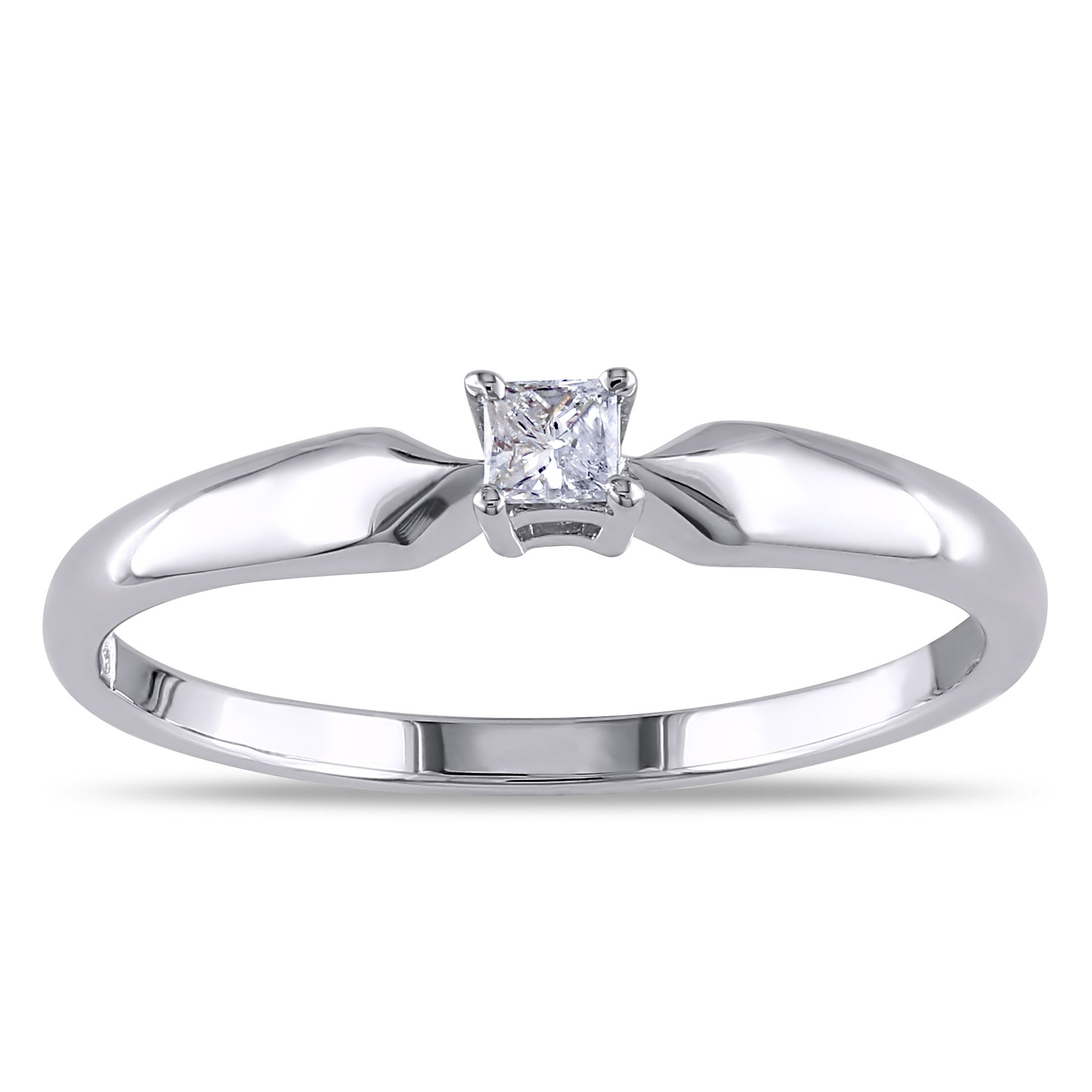 cut engagement princess diamond certified ring