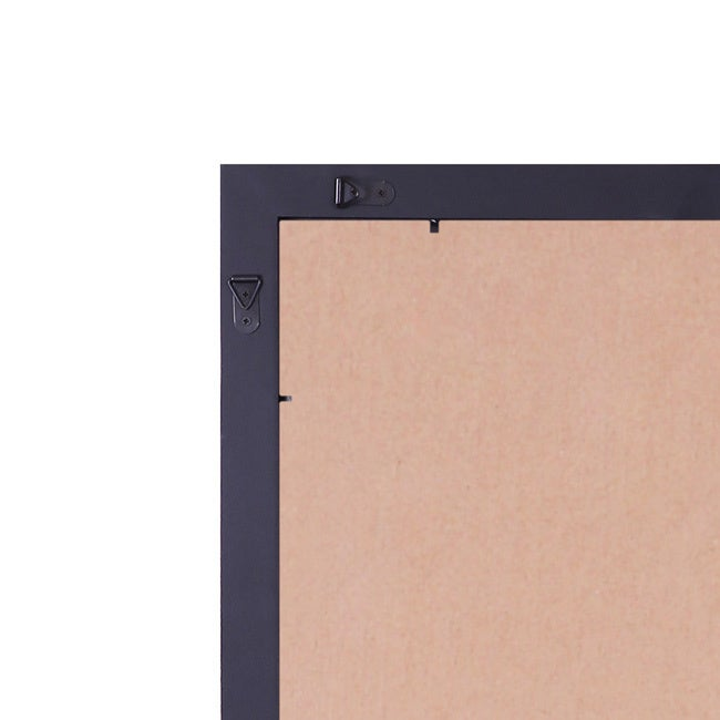 Shop Adeco Clear Plexiglass Window Black Picture Frame 14 X 22