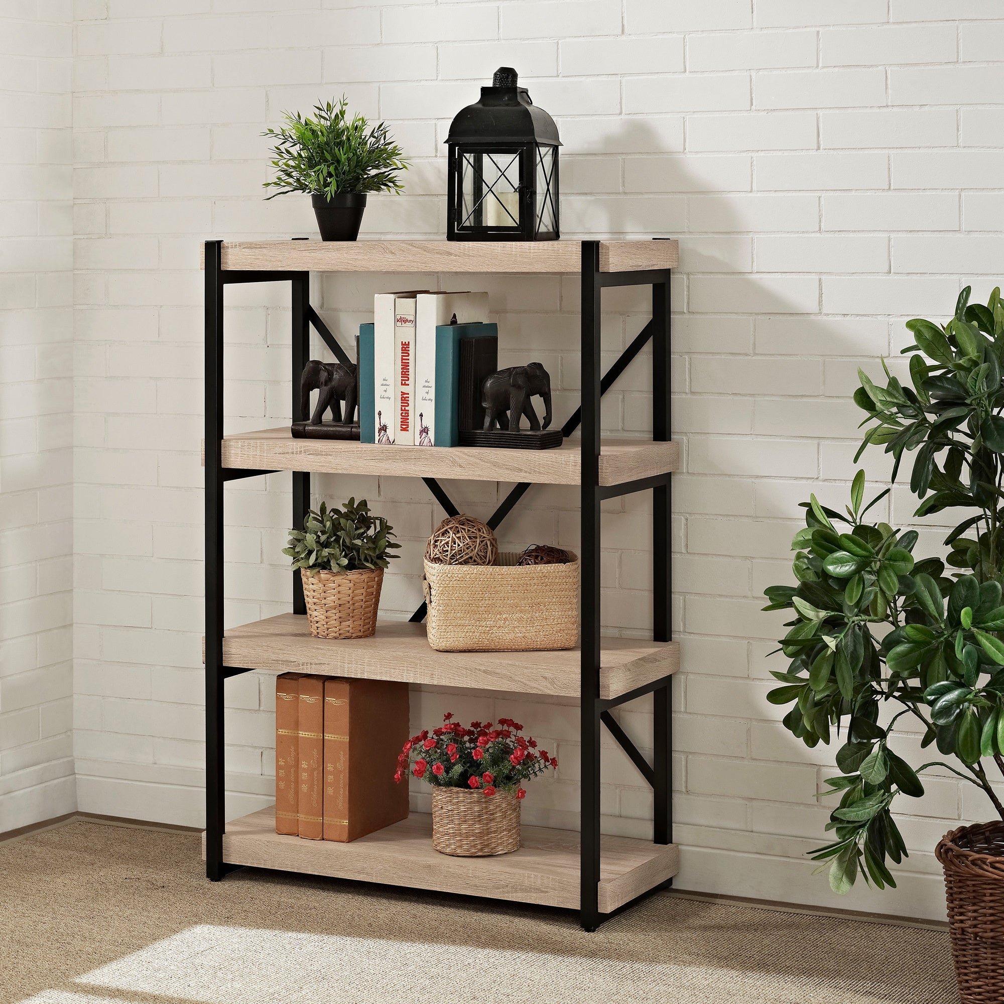 products threshold open bookshelves shelf height miskelly bookcase furniture item bookcases width four trim