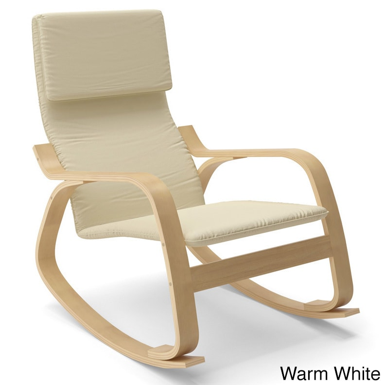 CorLiving Aquios Bentwood Contemporary Rocking Chair   Free Shipping Today    Overstock   16277000