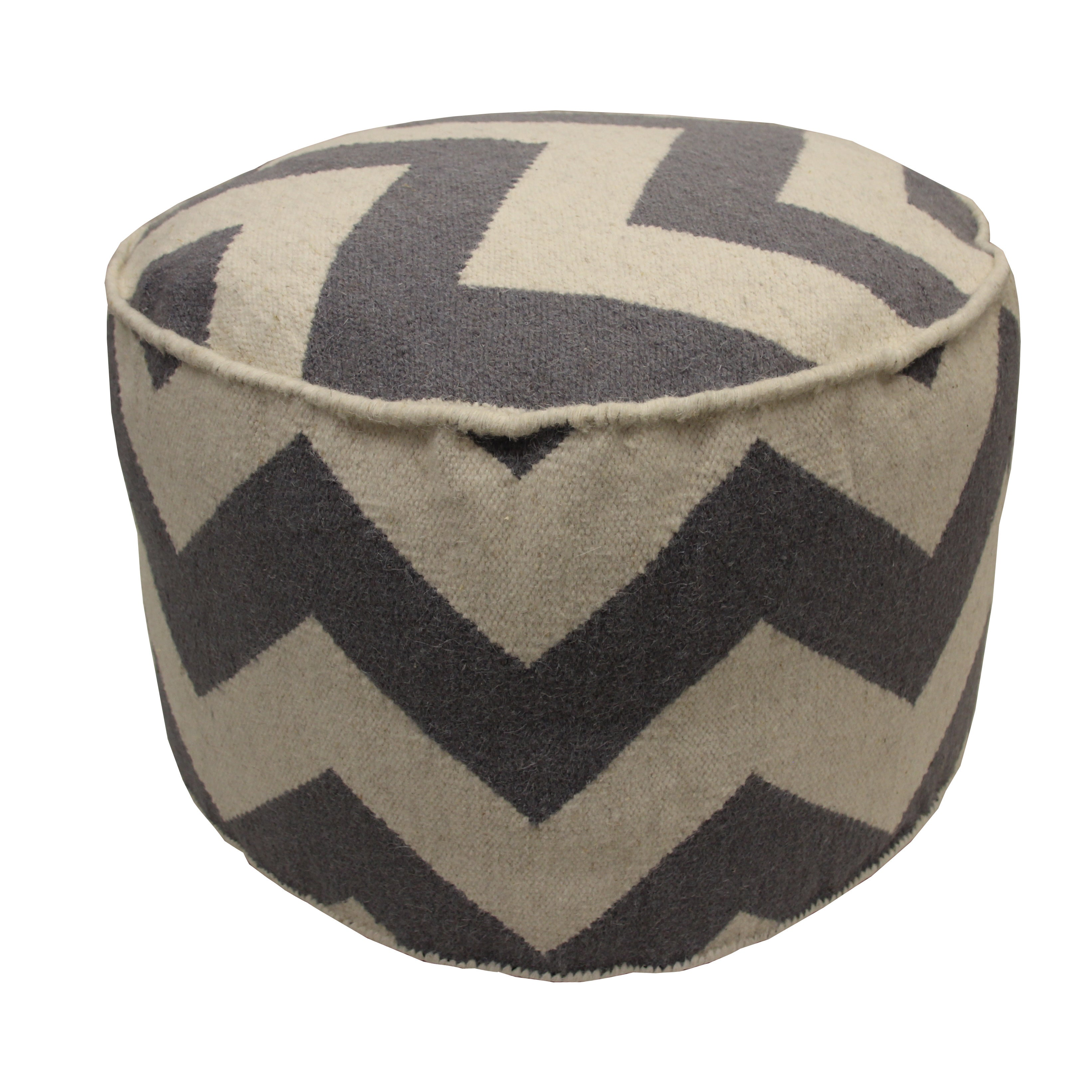 pouf seating front benches lan poof in round ottomans and ottoman oatmeal
