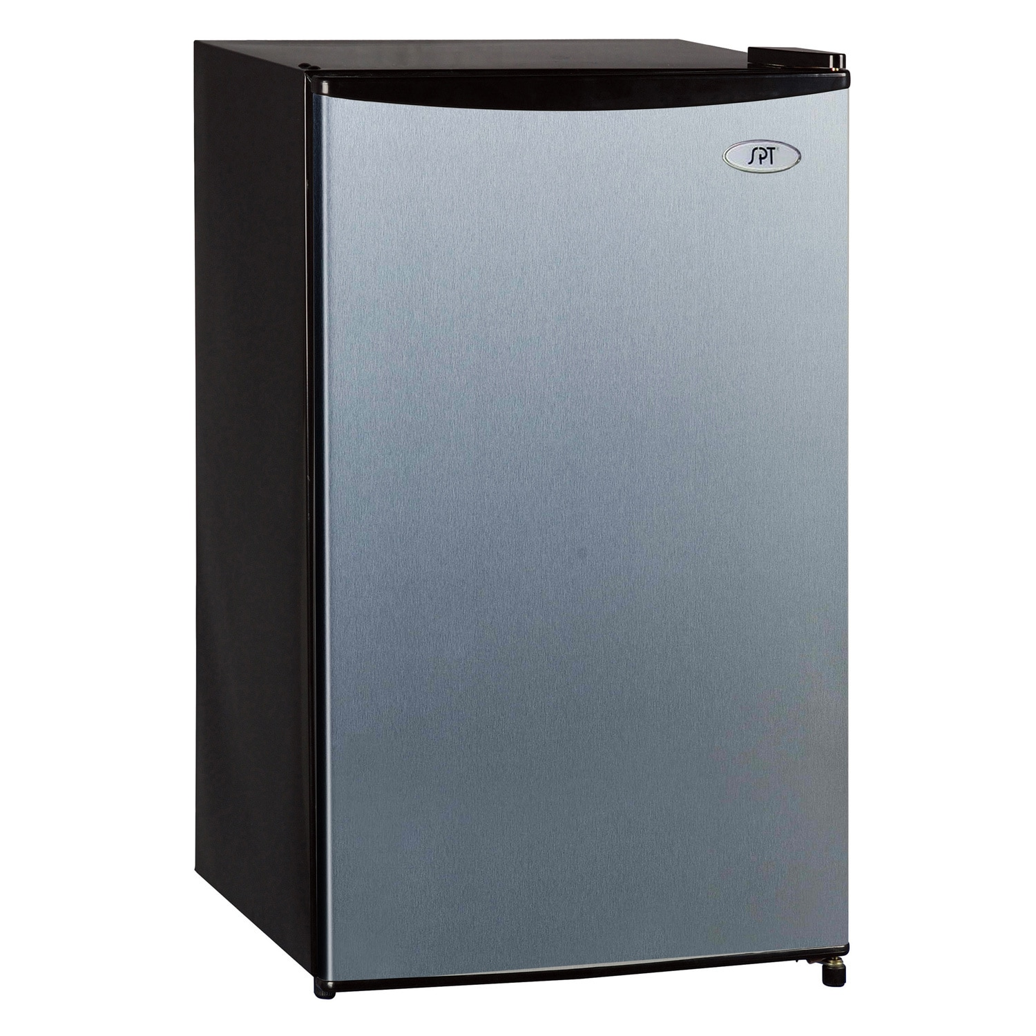 Shop SPT Stainless Steel Energy Star Compact Refrigerator - Free ...
