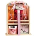 Natural Wood Caddy Cherry Blossom Spa Gift Set