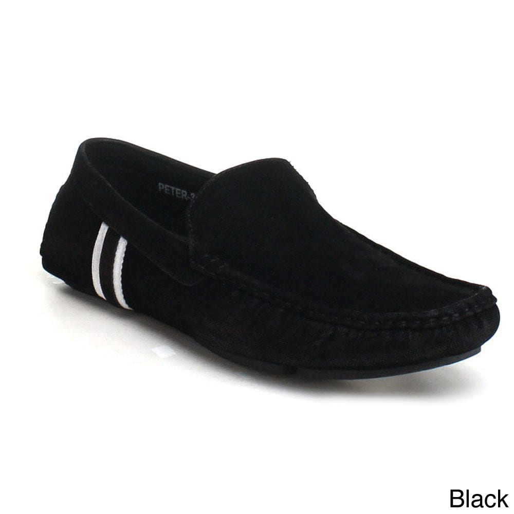 d5f427878ab Shop J s Awake Men s  Peter-32  Driving Moccasin Loafers - Free Shipping On  Orders Over  45 - Overstock - 9096393