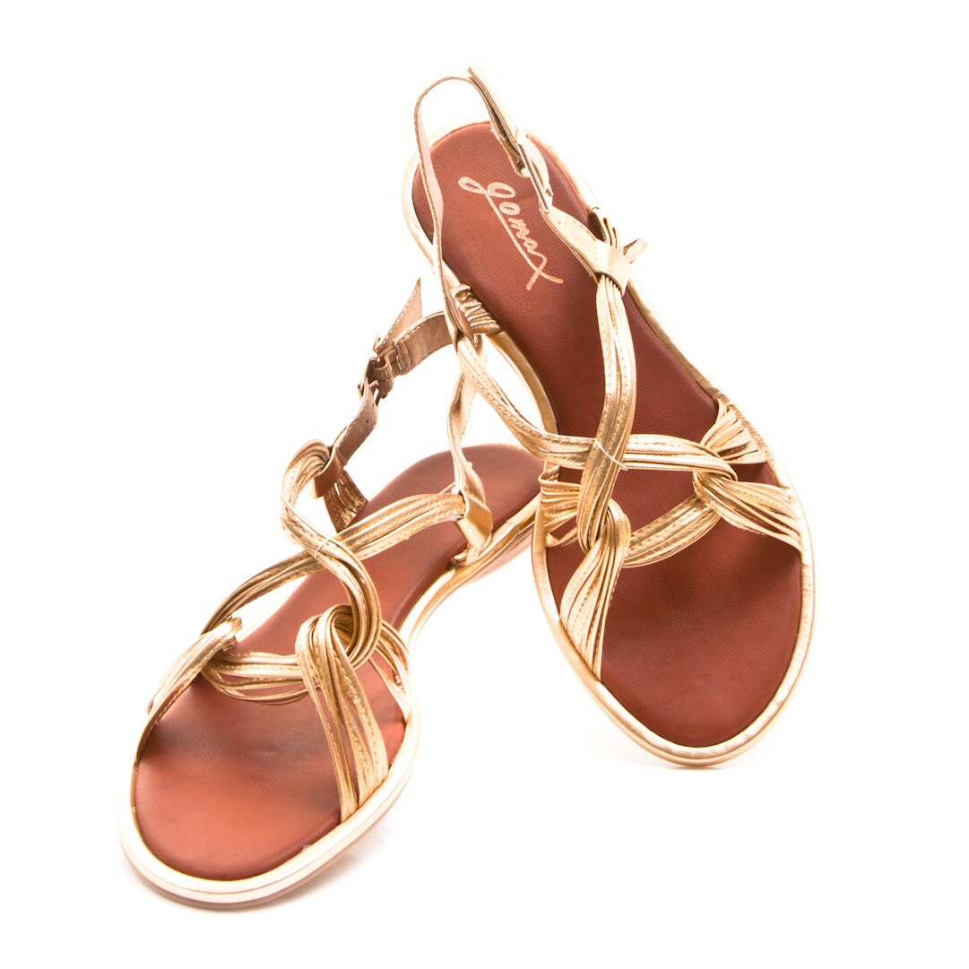 89f8244c432 Shop Gomax Women s  Kitty Corner 12  Slingback Intertwined Strap Sandals -  Free Shipping On Orders Over  45 - Overstock.com - 9096396