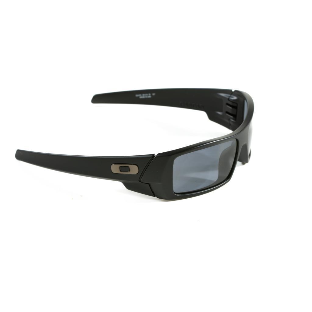 39dd9b2924 Shop Oakley  GasCan  Matte Black  Grey Plutonite Lens Sunglasses - Free  Shipping Today - Overstock.com - 9096410