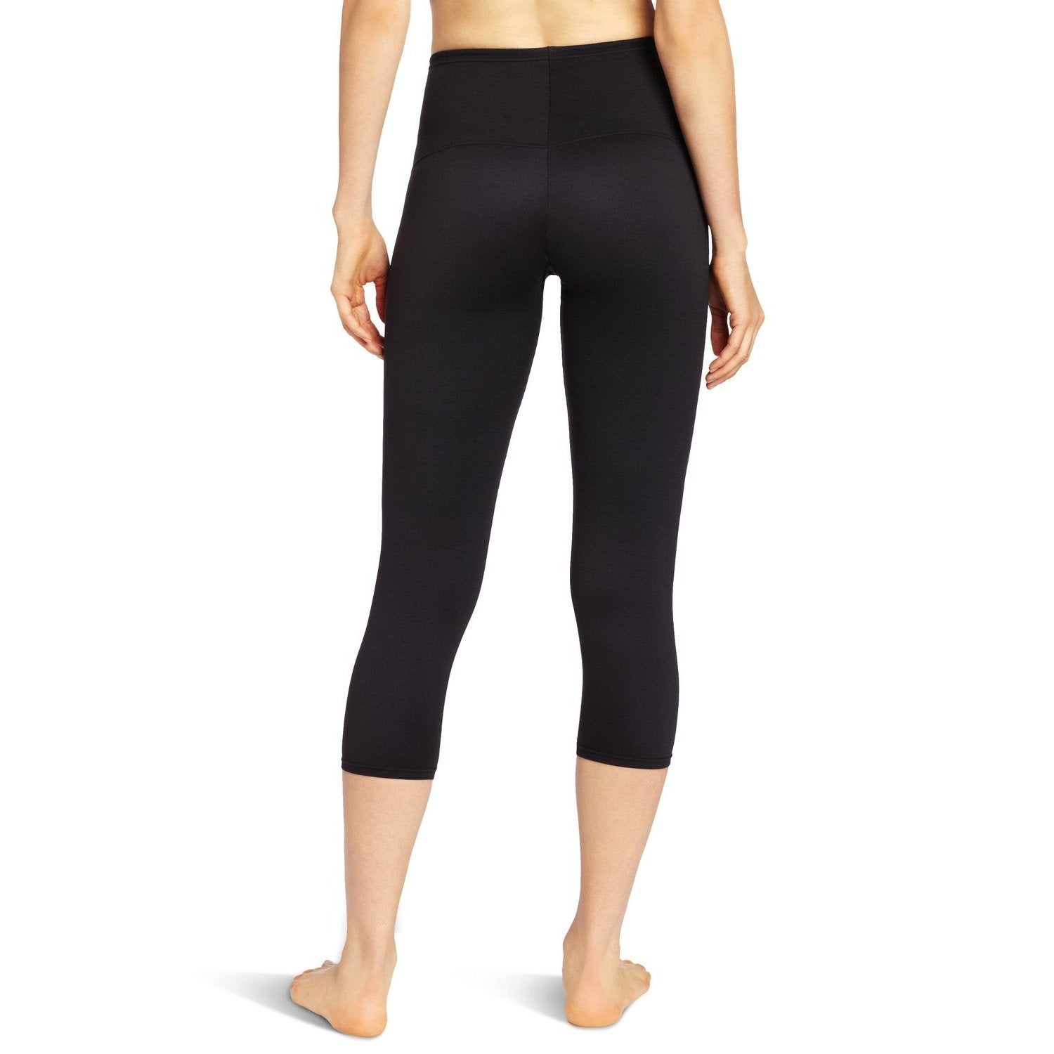 c36d593c96a Shop Flexees Women s Black  Fat Free  Dressing Leggings - On Sale - Free  Shipping On Orders Over  45 - Overstock - 9096506
