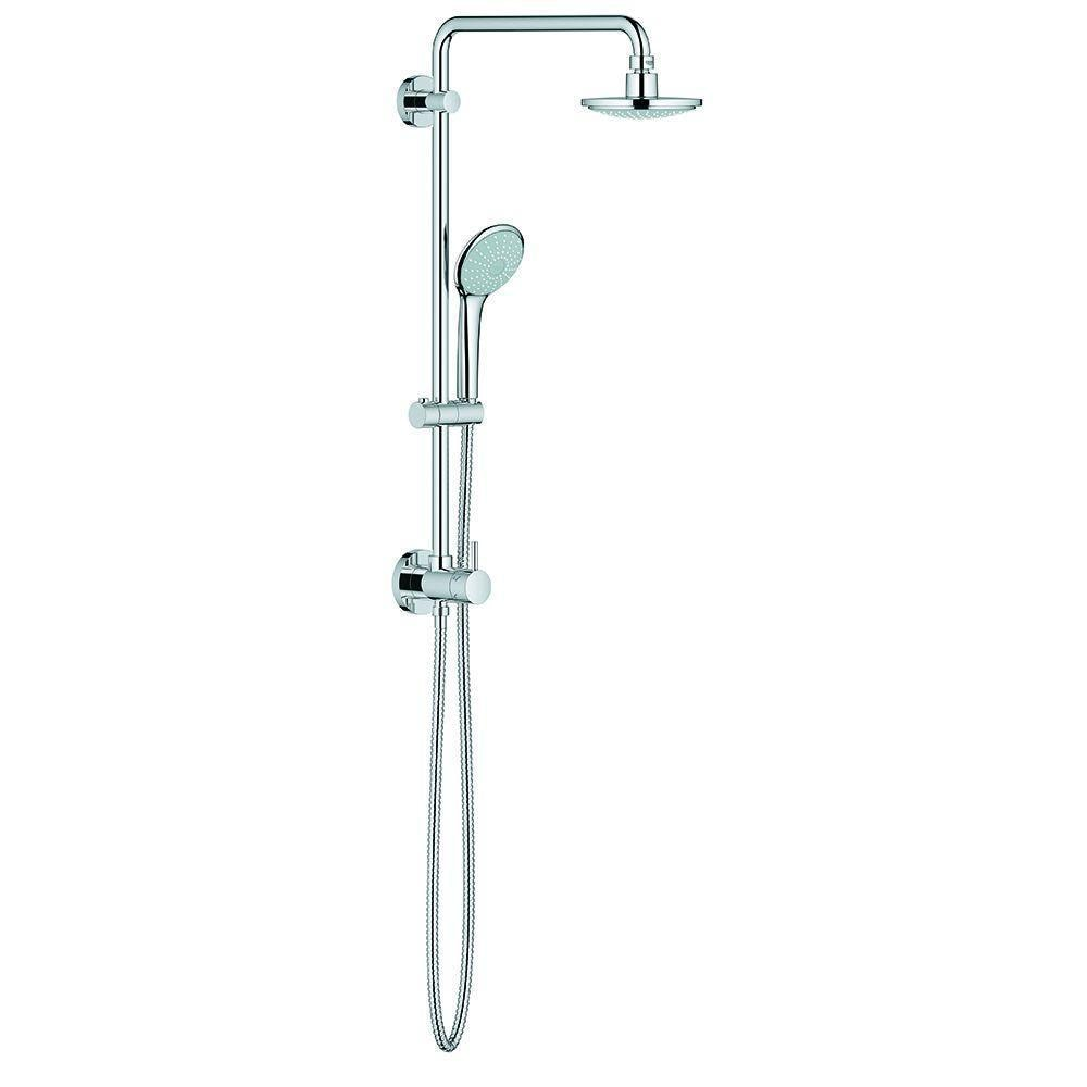 Shop Grohe Retro-fit 160 Shower System 27867000 StarLight Chrome ...