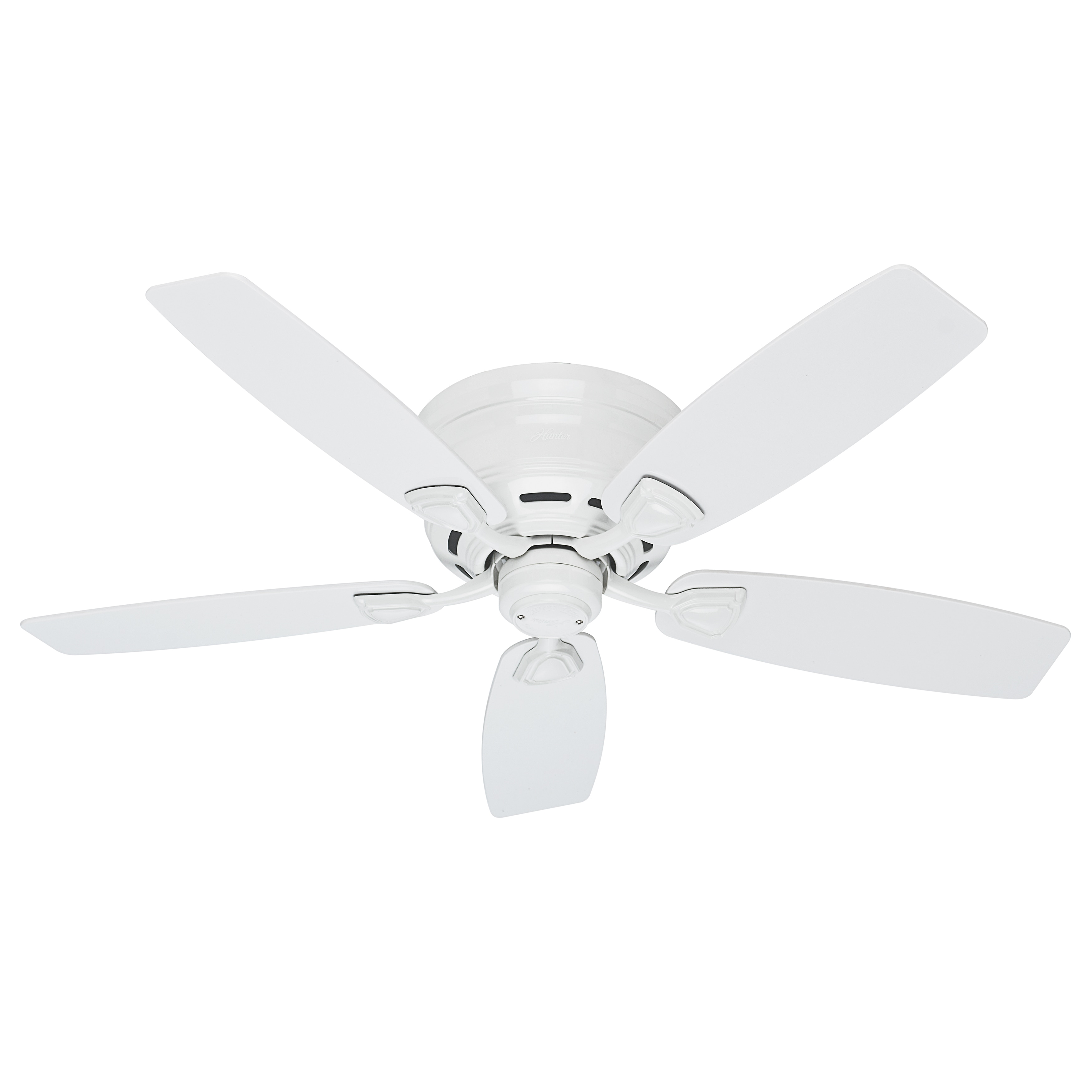 48 inch ceiling fan decorative shop hunter sea wind 48inch etl damp rated white ceiling fan free shipping today overstockcom 9098688