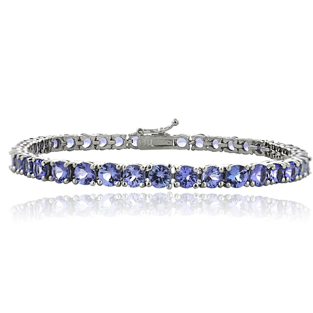 by bracelet penthouse bracelets handcrafted gold with swirl product tanzanite
