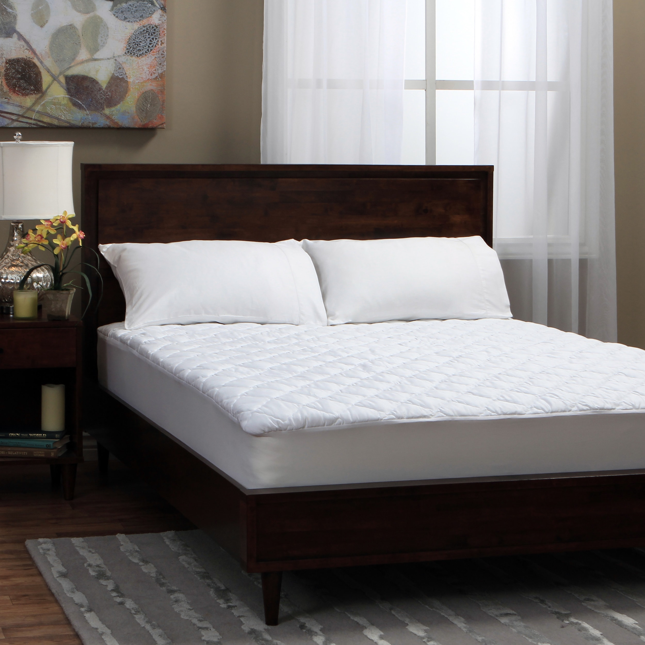 Tommy bahama triple protection stain release waterproof mattress tommy bahama triple protection stain release waterproof mattress pad free shipping today overstock 16290320 arubaitofo Choice Image