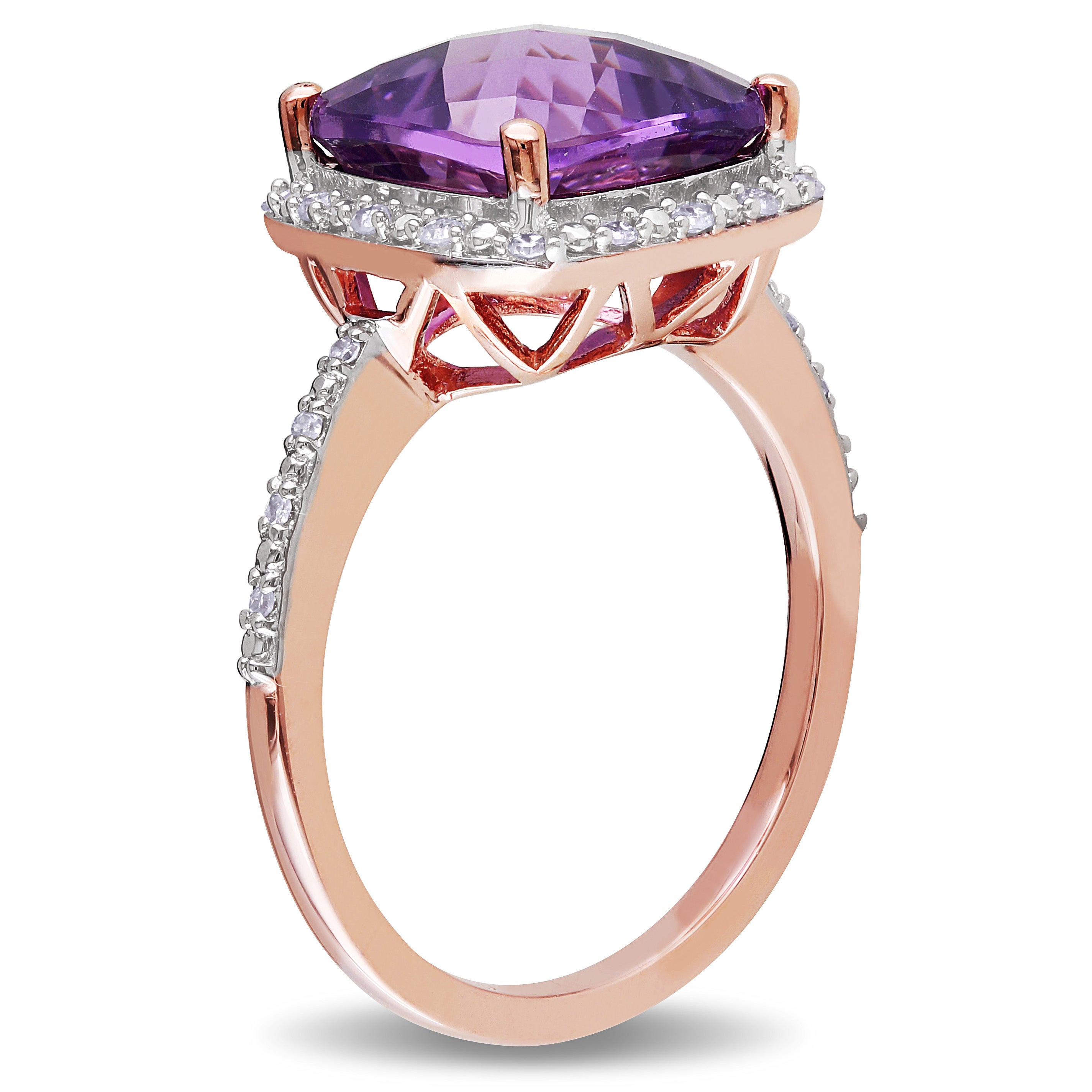 cushion rings amethist and image halo gold green cut white engagement in amethyst ring diamond