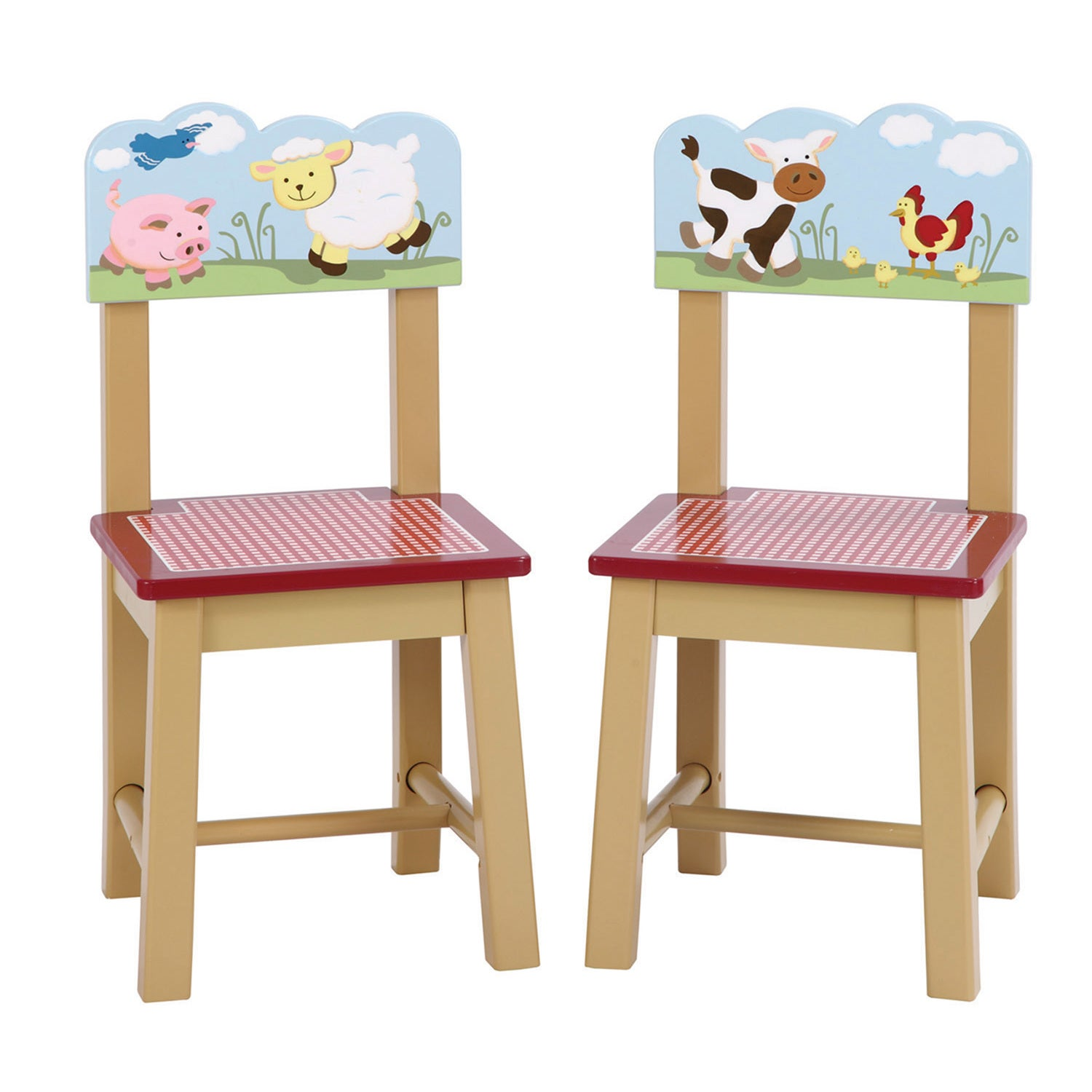 4bd5301194dd Shop Farm Friends Extra Chairs (Set of 2) - Free Shipping Today - Overstock  - 9104037
