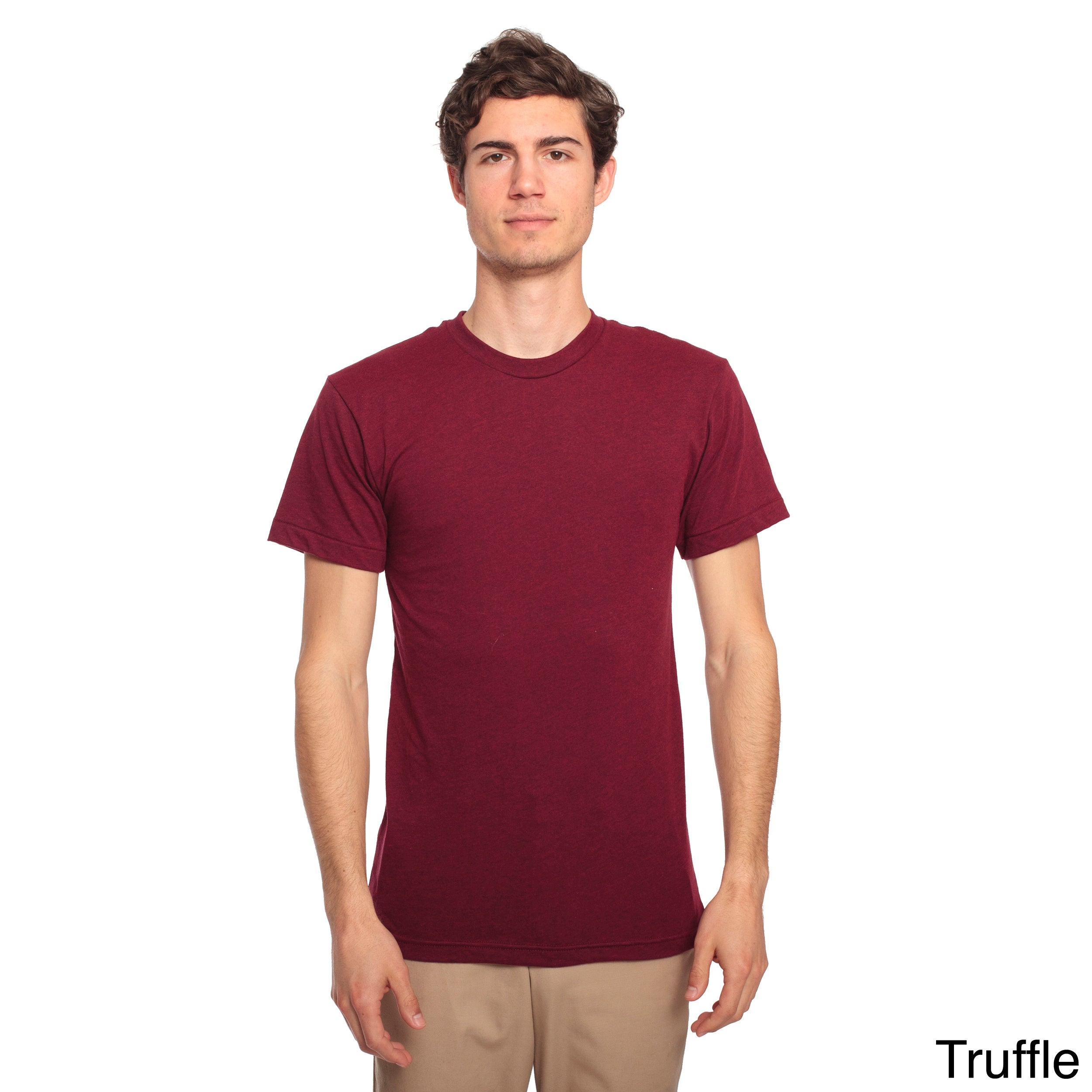 American Apparel Sheer Jersey Short Sleeve Summer T Shirt