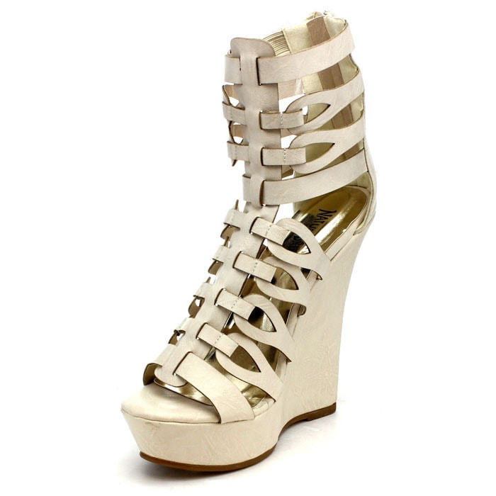 4671b6a39b0d Shop Nature Breeze Bangkok-01 Women s Gladiator Sandals - Free Shipping On  Orders Over  45 - Overstock - 9104144