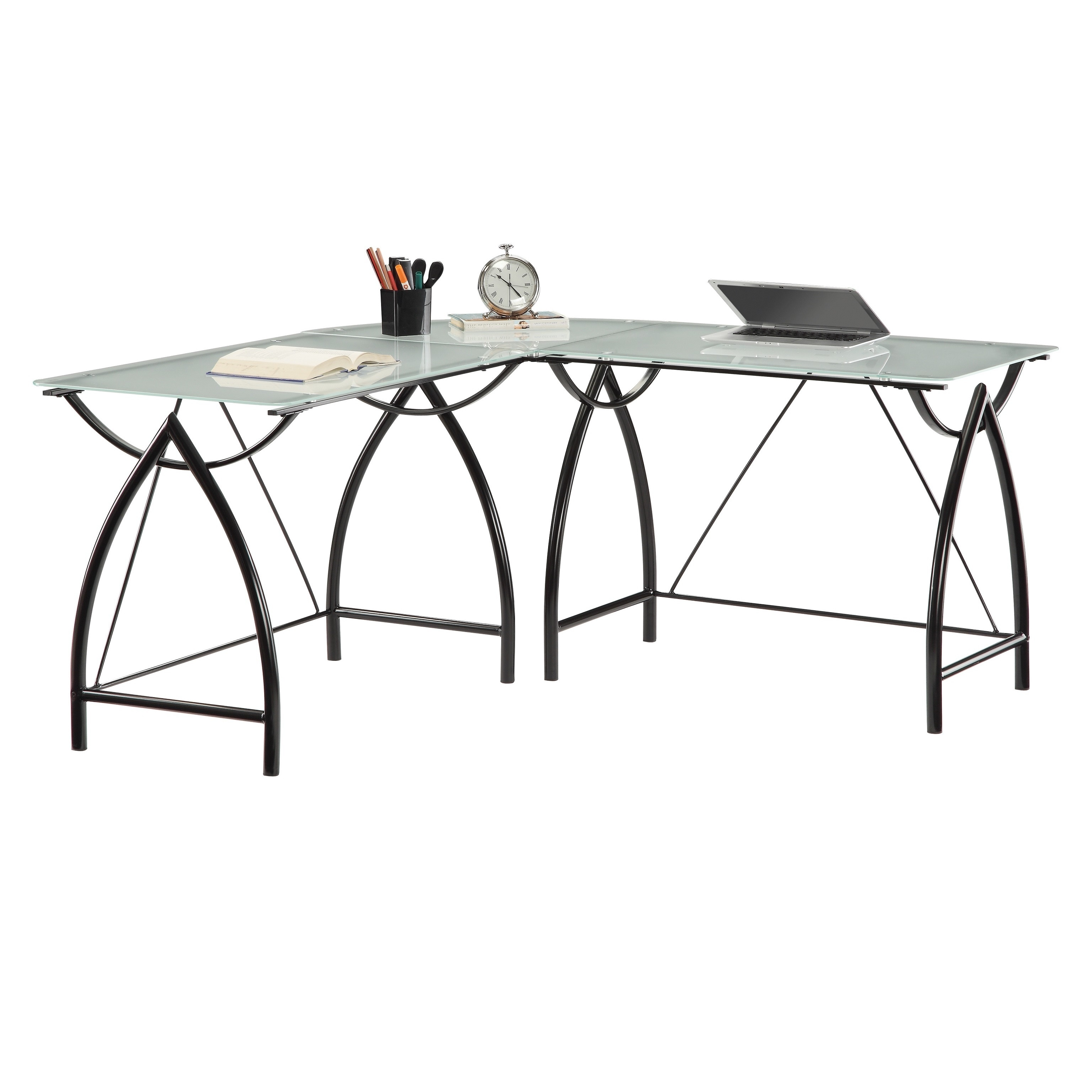 legs desks l shaped desk eight decoration nice awesome of design ideas home fascinating black furniture curving top interior decordat table glass with shape steel