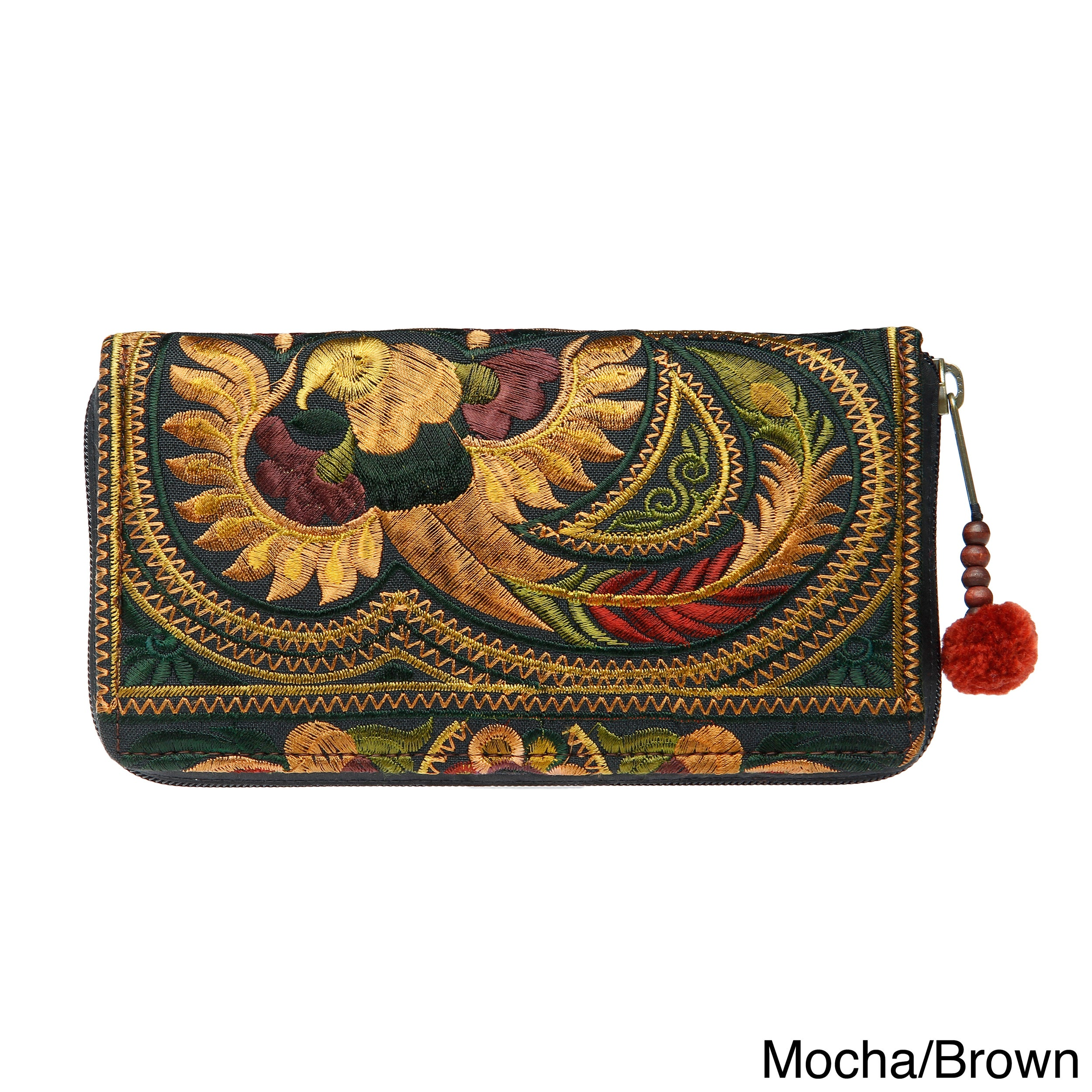 Handmade Flower Hmong Wallet (Thailand) - Free Shipping On Orders Over $45 - Overstock