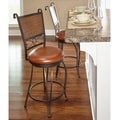 Powell Bailey Stamped Back Counter Stool, 24 Seat Height