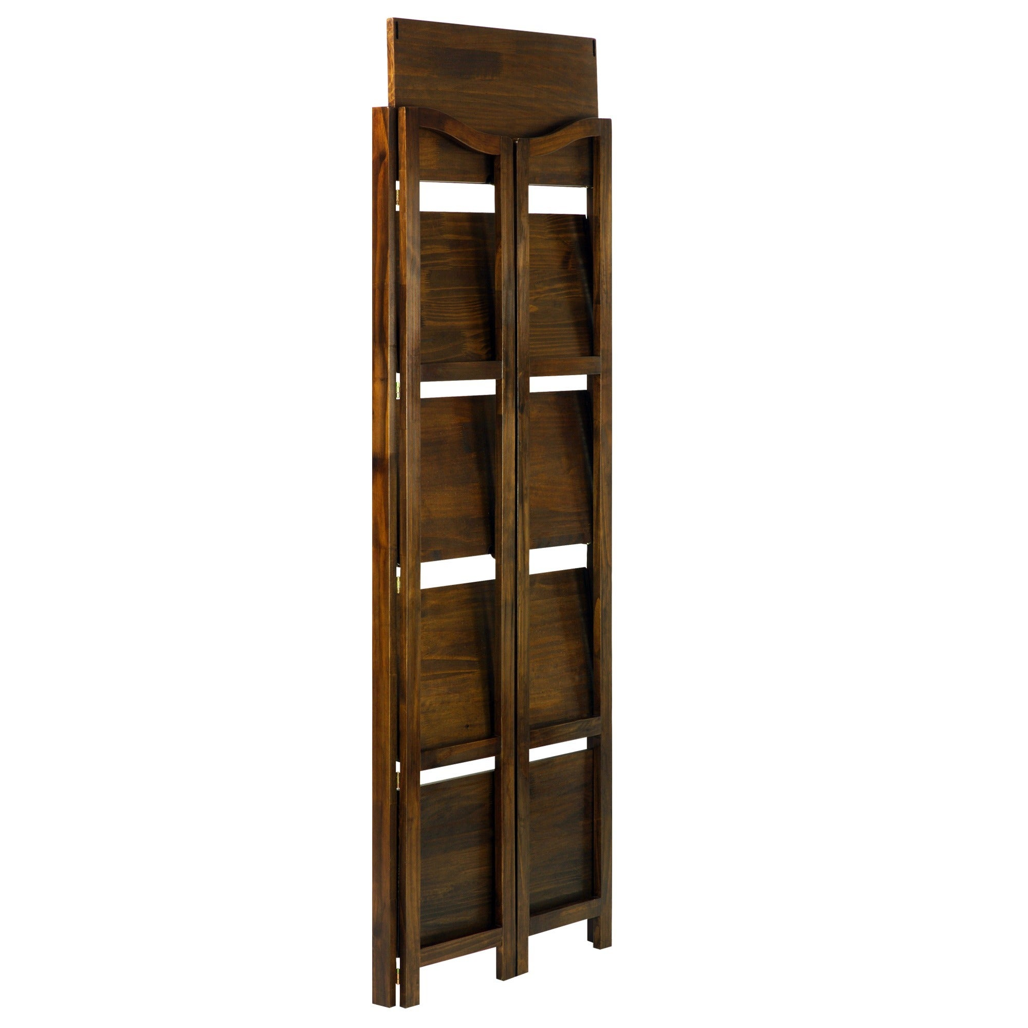shop stratford 5 shelf folding bookcase free shipping today overstockcom 9106451 - Folding Bookshelves