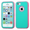 INSTEN High Impact Dual Layer Hybrid Phone Case Cover for Apple iPhone 5C