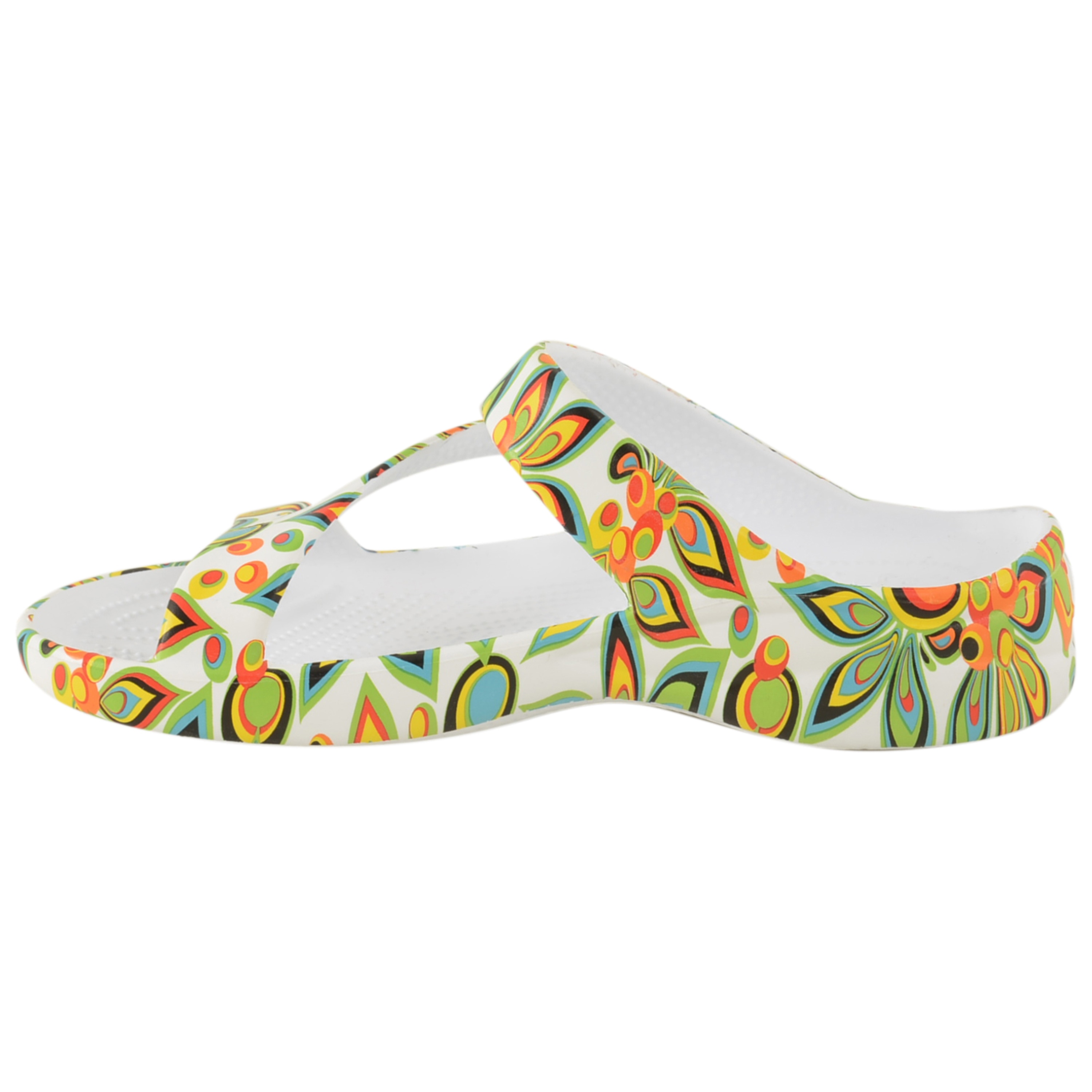 3bb7a25e241 Shop Women s Dawgs Loudmouth Z Sandal Shagadelic White - Free Shipping On  Orders Over  45 - Overstock - 9112627