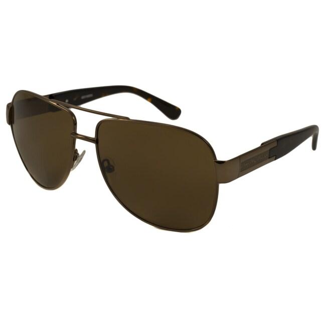 6d67cadaee4c7 Shop Harley Davidson Men s HDX821 Aviator Sunglasses - Free Shipping ...