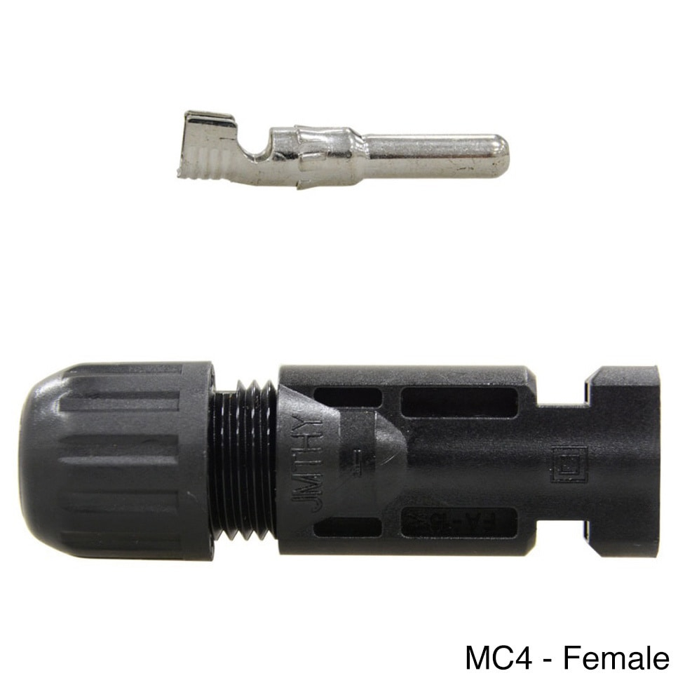 Shop Renogy Mc4 Male Female Solar Panel Cable Connector Free Wiring Connections Shipping On Orders Over 45 9116409