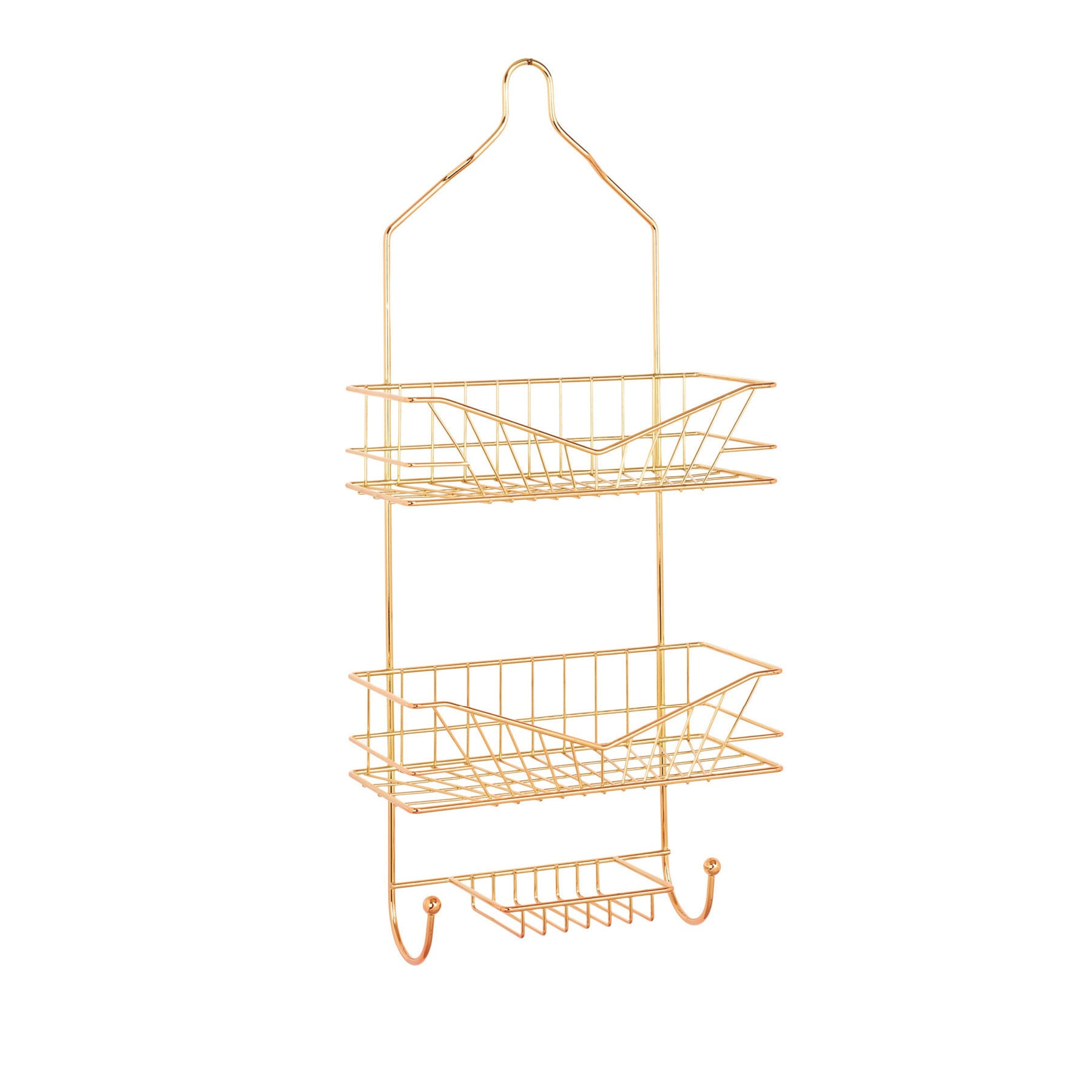 Shop Sunrise Rose Gold Shower Caddy - Free Shipping On Orders Over ...