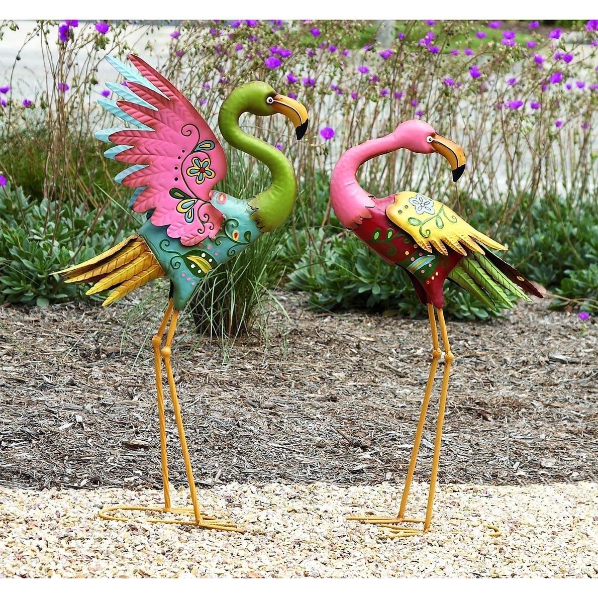 Outdoor Flamingo Set - Free Shipping Today - Overstock.com - 16302922