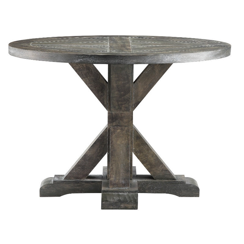 Shop Bridgeport Round End Table   On Sale   Free Shipping Today    Overstock.com   9120493