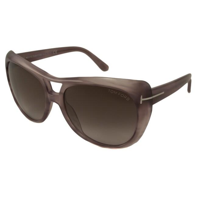 40d38b5fcb Shop Tom Ford Women s TF0294 Claudette Sunglasses - Free Shipping ...
