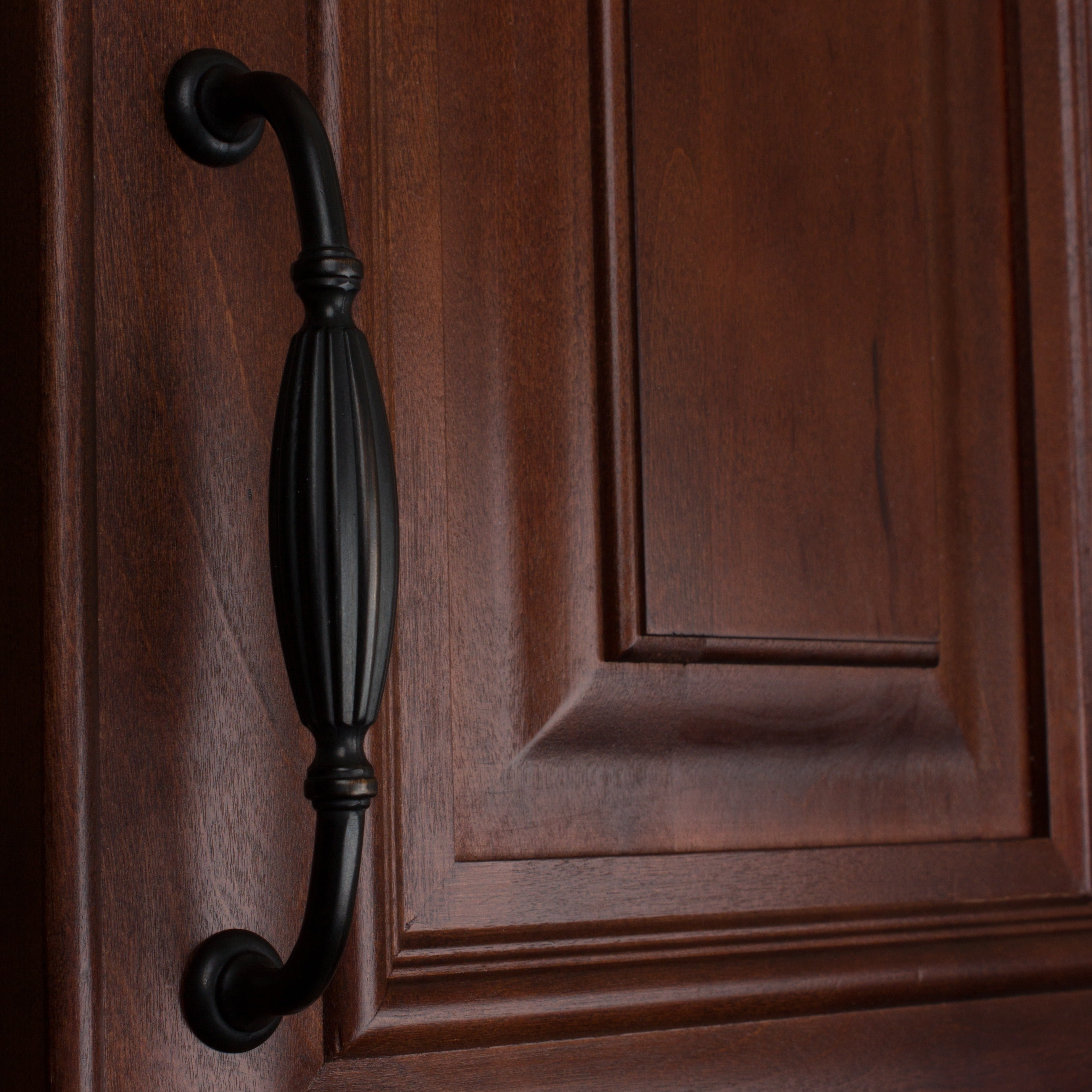 Shop GlideRite 5-inch Oil Rubbed Bronze Fluted Cabinet Pull (Case of ...