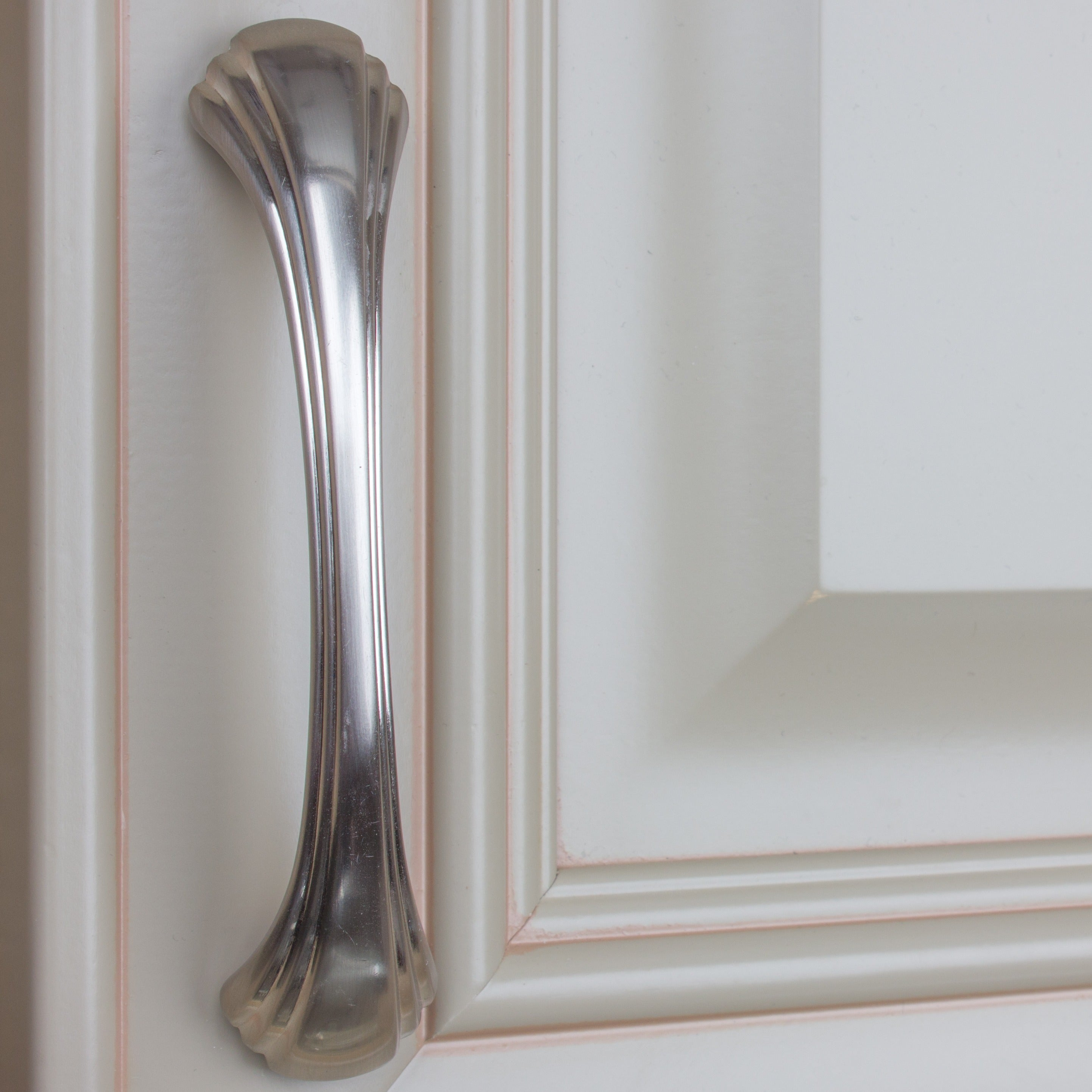 Ordinaire Shop GlideRite 4.5 Inch CC Satin Nickel Shell Cabinet Pulls (Case Of 10)    Free Shipping On Orders Over $45   Overstock   9121254