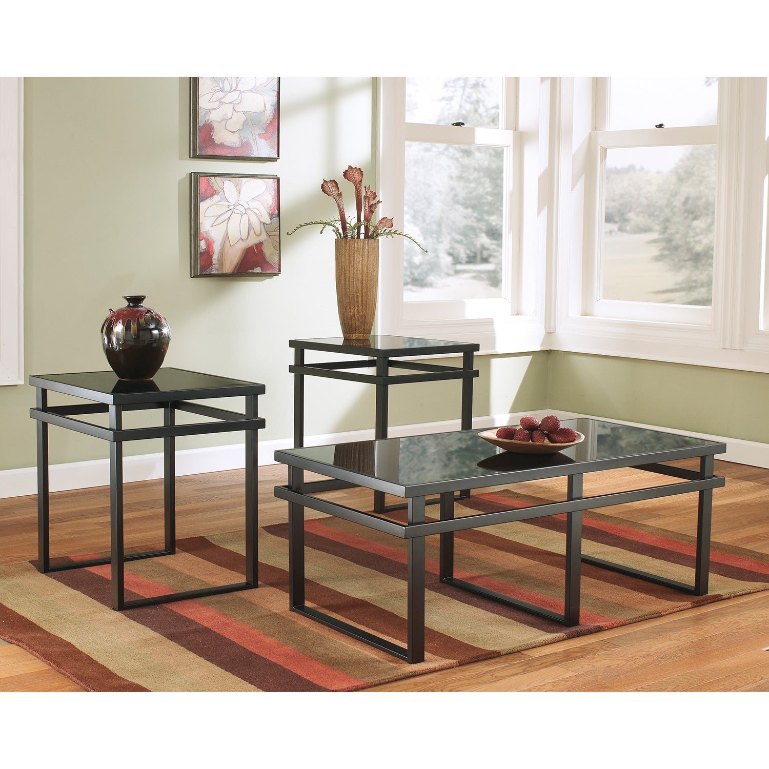 Signature Designs by Ashley Laney 3 piece Occasional Table Set
