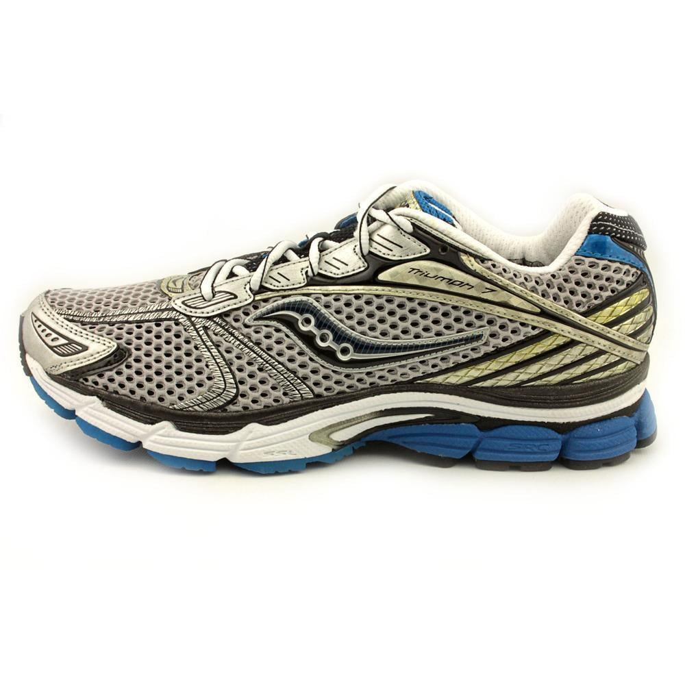 71bc67932fa4 Shop Saucony Women s  ProGrid Triumph 7  Synthetic Athletic Shoe - Wide  (Size 11.5 ) - Free Shipping Today - Overstock - 9124240