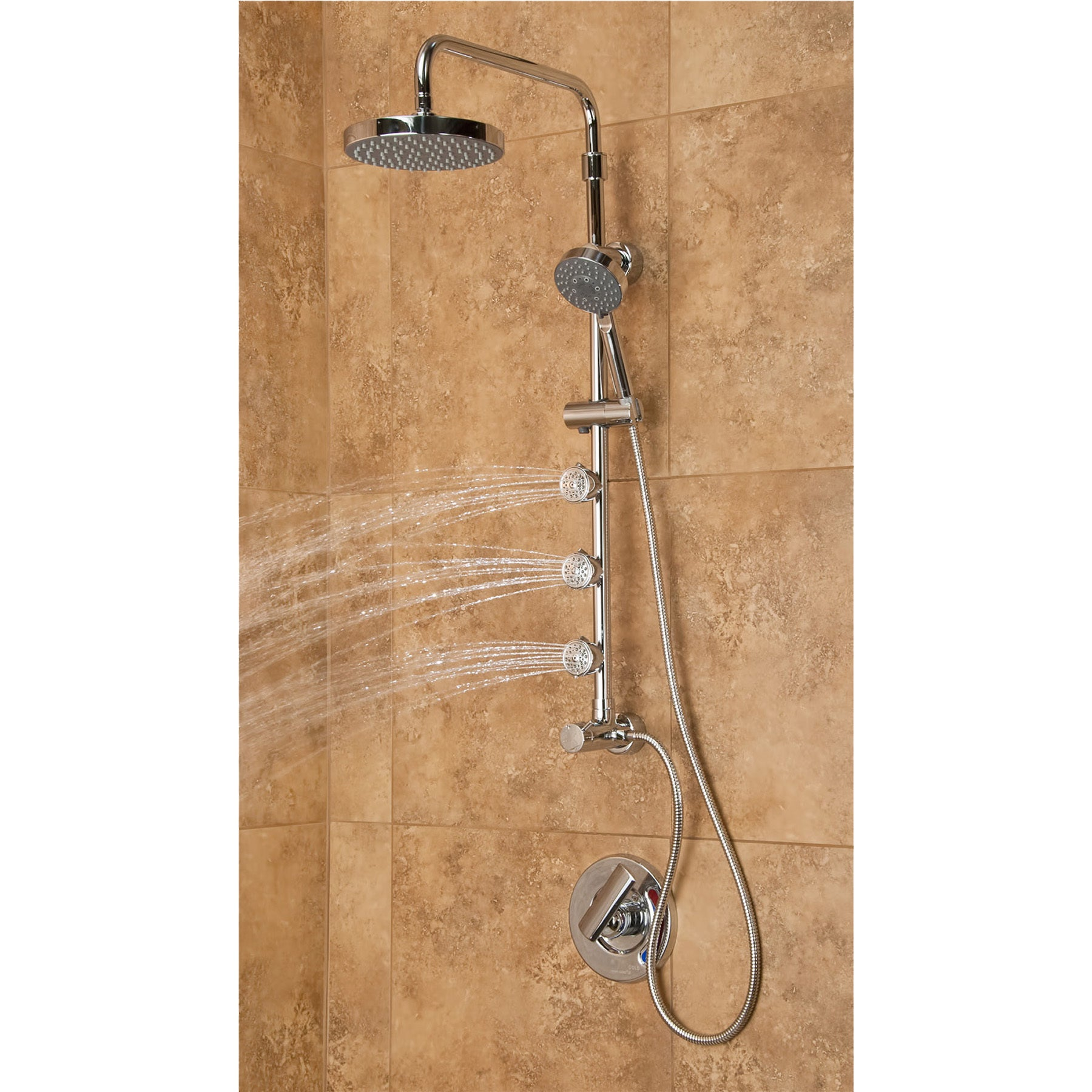 Superb PULSE Lanikai Shower System   Free Shipping Today   Overstock.com   16311485