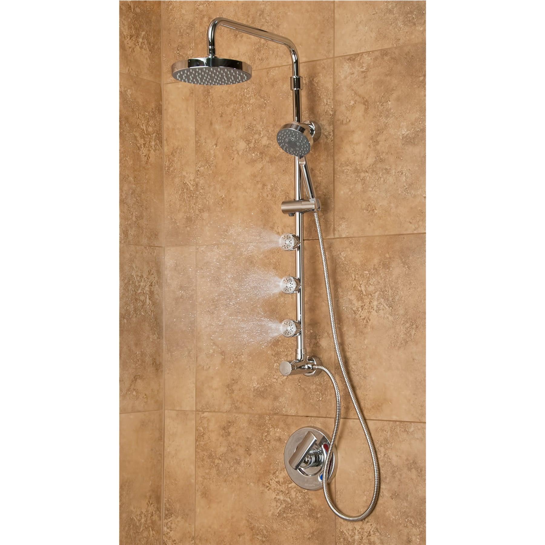 shower bar system. Shop Pulse Lanikai Shower System - Free Shipping Today Overstock.com 9128314 Bar